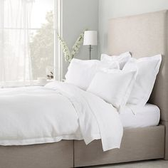 Plain Belgian Washed Linen Collection | The White Company