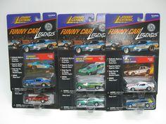 Funny Car Legends 1:64 Johnny Lightning Stardust USA-1 Flying Dutchman Stardust #JohnnyLightning