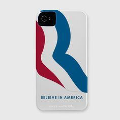 Show off your support for #MittRomney2012 with this American made iPhone case.