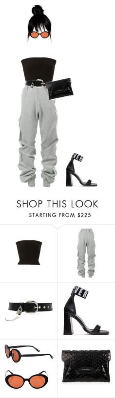 """""""Untitled #156"""" by brooklyncarter21 on Polyvore featuring Nili Lotan, Y/Project, D&G, Versus, Oliver Peoples and Givenchy"""
