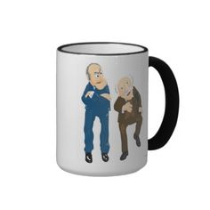 Statler and Waldorf Disney Coffee Mugs. My pappy loved these's two guys.