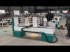 Three axis CNC wood lathe turning cutting machine - YouTube Cnc Wood Lathe, Turning, Youtube, Wood Turning, Youtubers, Youtube Movies