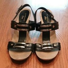 Anne Klein Anne Klein, Gladiator Sandals, Black Shoes, Michael Kors, Stuff To Buy, Shopping, Fashion, Moda, Fasion