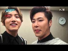 141021 tvn 'High Five'  star self-camera TVXQ