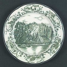 Timberlake Camp Dinner Plates.  Need two to replace mine that cracked.