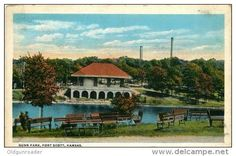 Gunn Park, Fort Kansas, USA