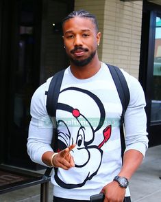 104 Likes, 7 Comments - Michael Jordan Fine Black Men, Gorgeous Black Men, Cute Black Guys, Just Beautiful Men, Handsome Black Men, Black Boys, Fine Men, Michael B Jordan Girlfriend, Michael Bakari Jordan