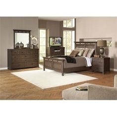 Promenade Panel Bed I Riverside Furniture