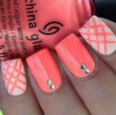 Pretty combination of white & pink