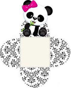 Professora Tati Simões: Kit Panda Preto, branco e rosa para imprimir grátis Panda Themed Party, Panda Party, Bear Party, Felt Crafts, Crafts To Make, Panda Icon, Panda Birthday, Candy Christmas Decorations, Mickey Mouse Parties