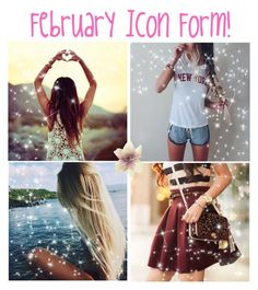 """""""February Icon Form"""" by maddiemae121999 ❤ liked on Polyvore featuring arte"""
