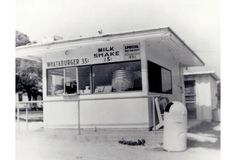 WHAT-A-BURGER  opened 8/8/1950 when Harmon Dobson opened Whataburger #1. The tiny burger stand offered something people had never seen: a burger so big, they had to hold its five-inch bun with 2 hands. An instant success, Harmon began to expand the business to other markets. By the end of the decade, Harmon would open Whataburger #21 in Pensacola, FL. The first Whataburger outside of TX.