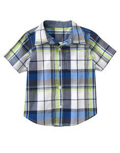 Plaid Shirt at Gymboree (Gymboree 6m-5T)