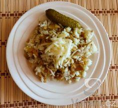 Recept Rizoto s hlívou ústřičnou - Dlouhozrnná rýže, eidam a jde to taky :) Oatmeal, Grains, Breakfast, Fit, Kochen, The Oatmeal, Morning Coffee, Rolled Oats