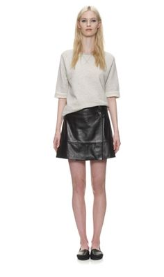 leather skirt from whistles