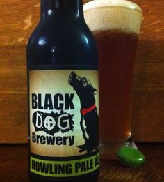 black dog brewery howling pale ale