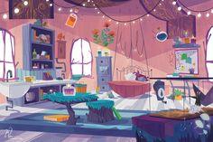 "— ""Margo's House (Interior)"""