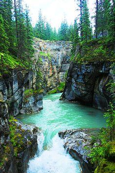 Maligne Canyon, Jasper, Alberta Canada