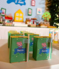 Peppa Pig Birthday Party Ideas | Photo 9 of 28 | Catch My Party