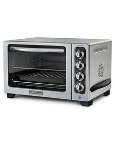 "KitchenAid KCO223CU Toaster Oven, 12"" Convection    Web ID: 481941#macysdreamfund"