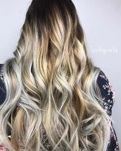 Balayage High Lights To Copy Today - Ice Cap - Simple, Cute, And Easy Ideas For Blonde Highlights, Dark Brown Hair, Curles, Waves, Brunettes, Natural Looks And Ombre Cuts. These Haircuts Can Be Done DIY Or At Salons. Don't Miss These Hairstyles! - https://thegoddess.com/balayage-high-lights-to-copy