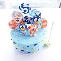 Images about #blueycake on Instagram Cake Ideas, Fondant, Birthday Cake, Tv, Desserts, Instagram, Alanya, Tailgate Desserts, Deserts