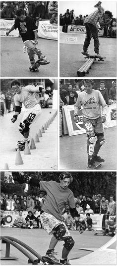 old school skateboarding USSR