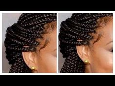 How To: BOX BRAIDS For Beginners! (Step By Step) - YouTube