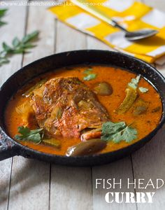 Learning-to-cook: Fish Head Curry | How to make Singapore Fish Head Curry | Meen Thalai Curry | South Indian Fish Recipes