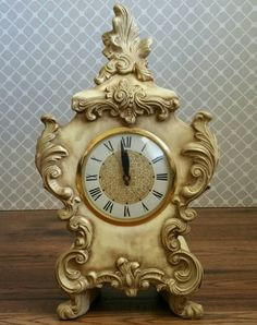 Vintage French Provincial Mantle Clock by AntiquatedRevolution