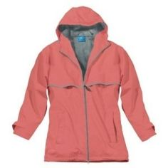 Women's New Englander Rain Jacket (s 6/8 Body Length Center of Back – 27 7/8″ – sleeve length from center of back 32 3/4″, Coral/Reflective) at http://suliaszone.com/womens-new-englander-rain-jacket-s-68-body-length-center-of-back-27-78-sleeve-length-from-center-of-back-32-34-coralreflective/