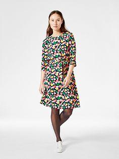 Lindex Kuviollinen mekko Vaaleanpunainen