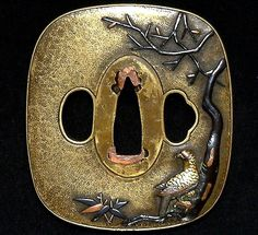 Hawk Tsuba from the collection of David W. Easley