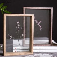 Our DIY Glass Photo Frame lets you create your ideal statement art - whatever that means to you. Find more unique home decor at Apollo Box! Cadre Photo Diy, Marco Diy, Picture Frame Crafts, Photo Frame Ideas, Photo Frames Diy, Two Photo Frame, Simple Photo Frame, Unique Photo Frames, Handmade Picture Frames