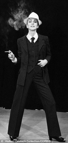 """Yves Saint Laurent Couture S/S 1971 """"La Collection du Scandale"""""""