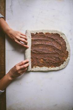 Black Sesame Tangzhong Milk Bread Babka | bettysliu.com