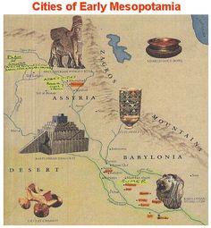 Cities of early Mesopotamia