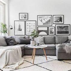 Image result for scandi living room