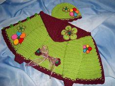 Detské oblečenie - Rozkvitnutý baklažánik :-) - 4498756_