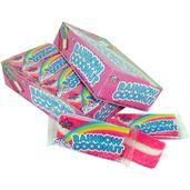 Rainbow Coconut Candy Bars: 24-Piece Box