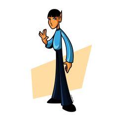spock  Character design / vectores / artdigital  #art #arte #artist #artwork #artdigital #digital #cartoons #cartoon #ilustradores #ilustrador #ilustraciones #ilustracion #spock