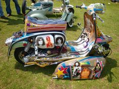 Customised Italian Lambretta TV 175 ( 20th Century Toy ) , Marc Bolan  JunkYardFind.com