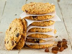 Овсяное печенье без муки,яиц и масла | Vkusno.co - готовим легко!