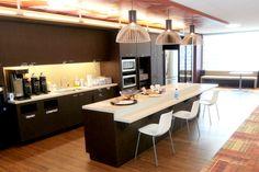 Salesforce office kitchen