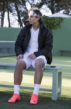 Rafael Nadal behind the scenes (via Nike Football)