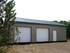 """Building Dimensions: 30' w x 40' L x 10' 4"""" H (ID# 365)  Visit: http://pioneerpolebuildings.com/portfolio/project/30-w-x-40-l-x-10-4-h-id-365-total-cost-12085  Like Us on Facebook! https://www.facebook.com/Pioneer.Pole Call: 888-448-2505 for any questions!"""