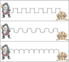 Para trabajar los contenidos educativos en torno a la temática PIRATA diseñamos distintos materiales para utilizar en los rincones de aprend... Pirate Preschool, Pirate Activities, Free Activities, Alphabet Activities, Pirate Day, Pirate Theme, Toddler School, Pre School, Busy Book