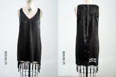 FRINDGE DECORATED DRESS