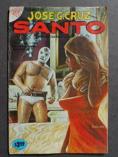 1978 Jose G. Cruz Santo El Enmascarado De Plata Lucha Comic