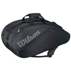 Wilson  Club Racket Bag 9er zwart